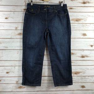 Ann Taylor Modern Fit Lindsey Waist Capri Jeans